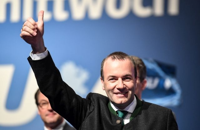 Chairman of the European People s Party (EPP) Group in the European  Parliament Manfred Weber f60abcf488
