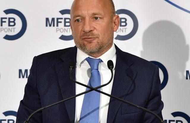 Bernáth Tamás (MTI Fotó: Máthé Zoltán)