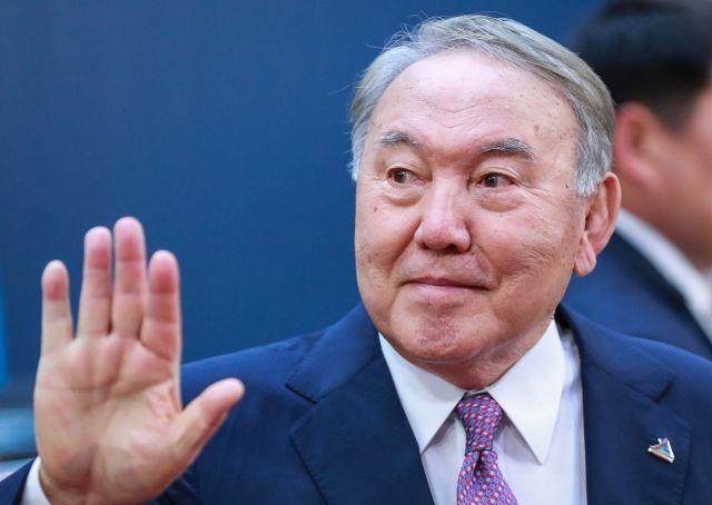 Nurszultan Nazarbajev (Fotó: MTI/EPA/Stephanie Lecocq)