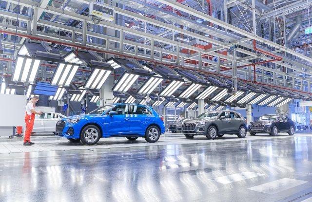 Az Audi győri gyára. Forrás: Audi Hungaria Zrt.