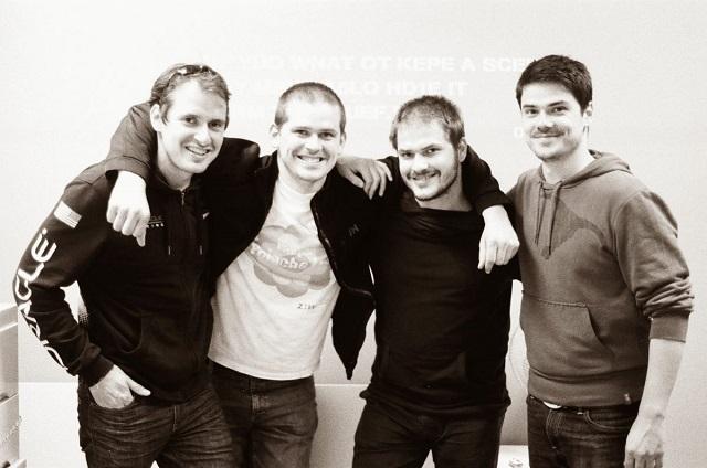 Balról jobbra: Gábor, Péter, Gergely és Zoltán egy korábbi képen. Fotó: clueQuest
