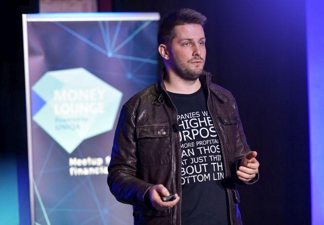 Barna Balázs, a TransferWise európai piacokra irányuló fejlesztésekért felelős vezetője. Fotó: Nagyapáti István