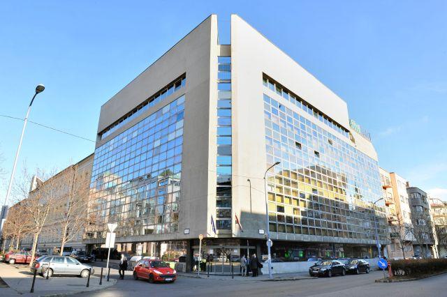 Az Államadósság Kezelő Központ székháza Budapesten, a II. kerületi Csalogány utcában. (MTI Fotó: Máthé Zoltán)
