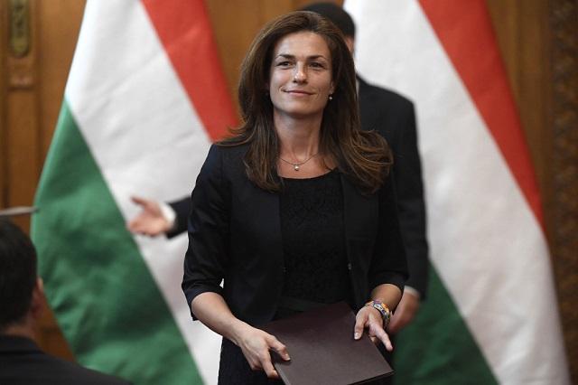 Varga Judit (Fotó: Kovács Tamás/MTI)