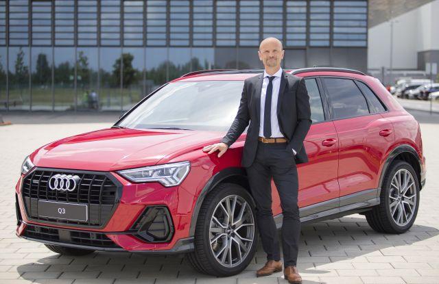 Les Zoltán, az Audi Hungaria Zrt. járműgyártásért felelős igazgatósági tagja.