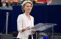 Az EU-pártiaknak gesztusokat tett, az EU-szkeptikusoknak beszólt von der Leyen