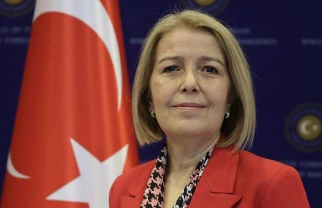 Songül Ozan, Törökország montenegrói nagykövete. Forrás: Facebook/Török Nagykövetség
