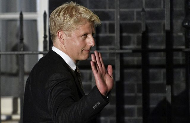 New Business and Engery Minister Jo Johnson arrives as British Prime Minister Boris Johnson begins his new term at Downing Street in London, Britain, 24 July 2019, reisssued 05 September 2019. Media reports on 05 September 2019 state that Jo Johnson, younger brother of Prime Minister Boris Johnson is resigning his post as minister and his position as Conservative Member of Parliament for Orpington. EPA/NEIL HALL