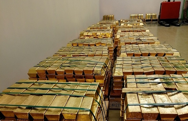 Legalább negyedmilliárd dollárt nyert az MNB a tavalyi aranyvásárláson