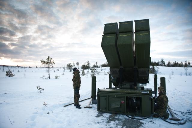 A NASAMS rendszer bevetésen. Fotó: Soldatnytt / Wikimedia Commons