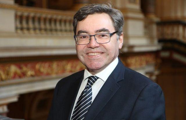 Paul Fox, az Egyesült Királyság magyarországi nagykövete. Forrás: Twitter