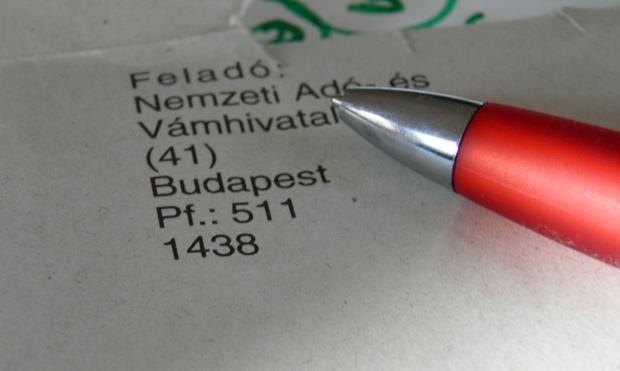 A többség már levelet kapott az adóhatóságtól