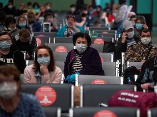 Hirtelen megugrott a koronavírusos halálesetek száma Moszkvában