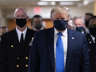 Futótűzként terjed a koronavírus - már Donald Trump is maszkot húzott