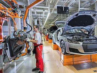 Az Audi is kisöpörte a padlást, 700 milliárd forintot vittek haza