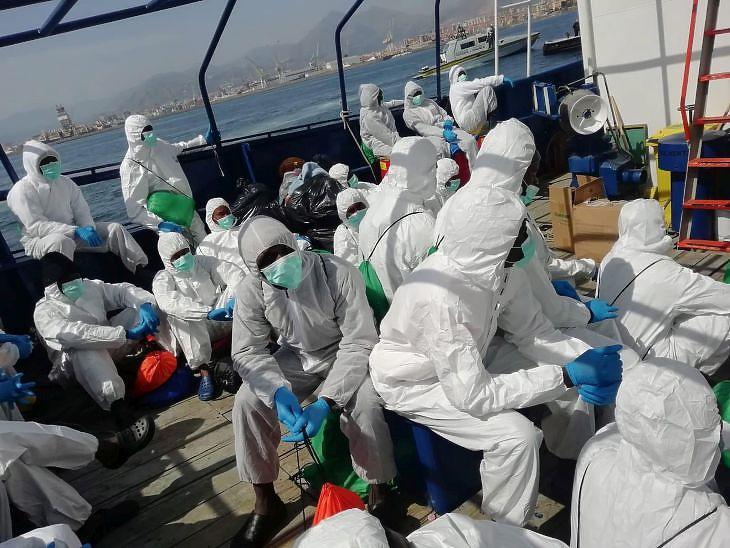 Szinte eltűntek a bevándorlók Európa határairól a koronanavírus miatt