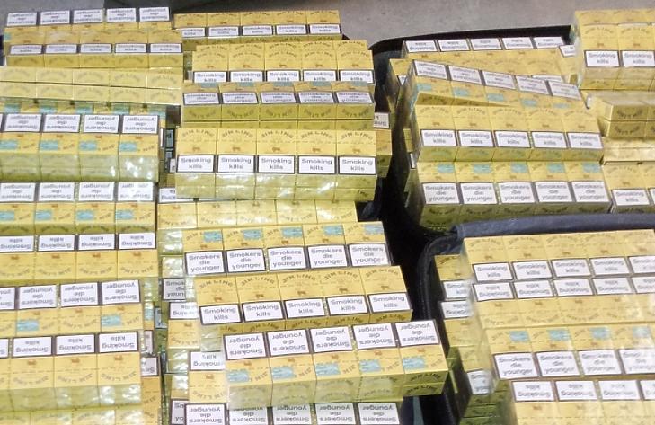 9 hónap, másfél milliárd forintnyi lefoglalt csempészcigi - impozáns a NAV mérlege
