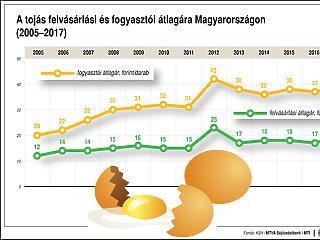 A rendszerváltáskor imádták igazán a tojást a magyarok