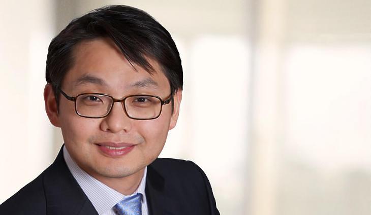 Hyun Ho Sohn, a Fidelity International portfóliómenedzsere. Fotó: Fidelity