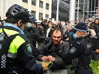 Új jogokat kapnak a rendőrök Sydney-ben, hogy jobban be tudják tartatni a korona-korlátozásokat