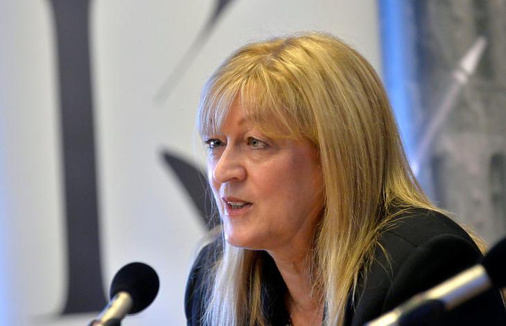 A BIF legnagyobb tulajdonosa, Schmidt Mária politikai szempontból is az egyik legbefolyásosabb magyar nő (MTI Fotó: Máthé Zoltán)