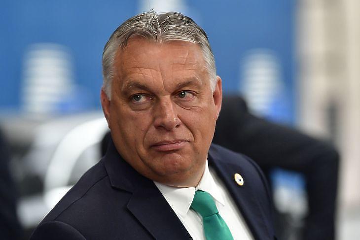 Orbán Viktor kormányfő Fotó: MTI
