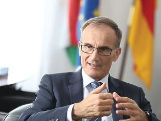 Rejtjeles üzenettel búcsúzott a budapesti német nagykövet