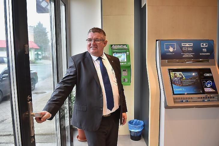 Vida József, a Takarékbank elnök-vezérigazgatója (Fotó: Bánkuti András)