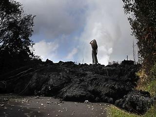 Lassan tényleg elnyeli a vulkán Hawaii-t