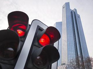 Zuhanórepülésben a Deutsche Bank