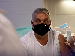 Milyen oltást kapott harmadiknak Orbán Viktor?