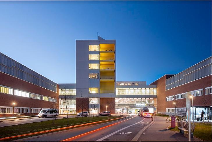 A dániai Arhusi Egyetemi Kórháza