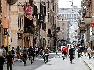 Olaszországban továbbra is 400 körül van az új fertőzöttek száma