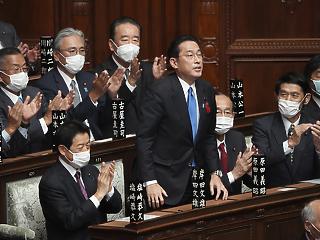 A parlament alsóháza már megszavazta Kisida Fumiót Japán új miniszterelnökének