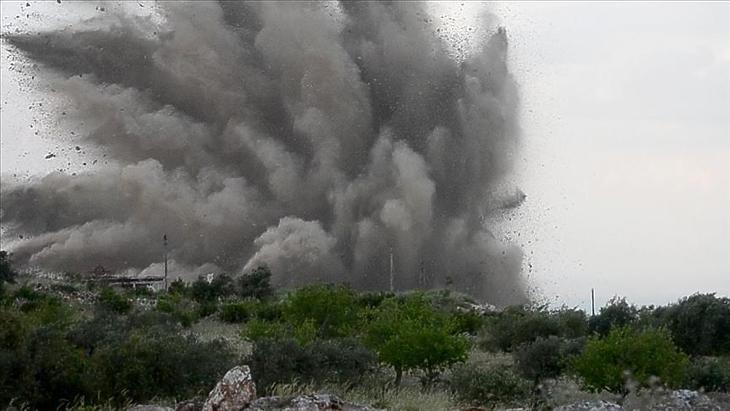 Kevesebb mint 48 órával a kabuli repülőtérnél elkövetett robbantás után jött a válaszcsapás. Fotó: Anadolu Agency