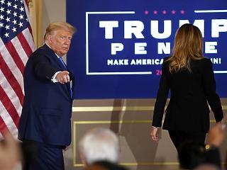 Már a first lady is arra kéri Donald Trumpot: ismerje el a vereségét
