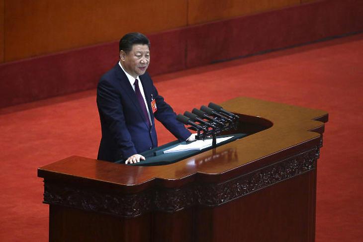 Hszi Csin-ping kínai elnök. (Fotó: MTI/EPA/Vu Hong)