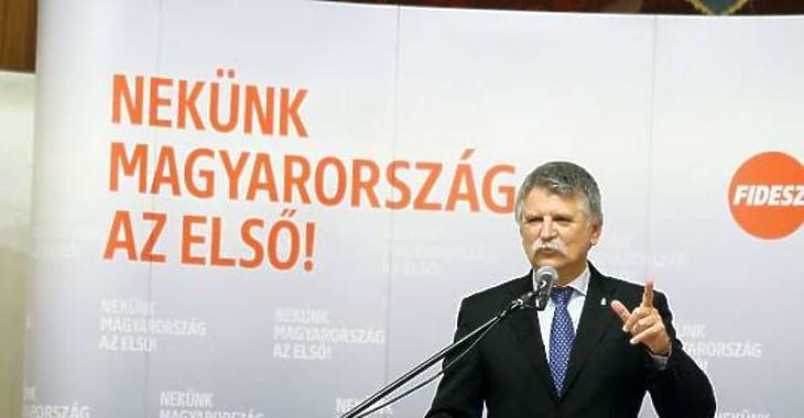 Kövér László köztársasági elnök. Fotó: MTI