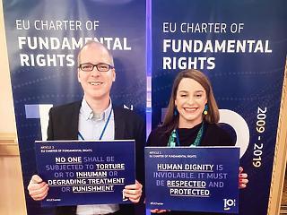 A társadalom jogállami tudatosságát kell kialakítanunk - videóinterjú a Nobel béke-díjra jelölt Magyar Helsinki Bizottság társelnökével