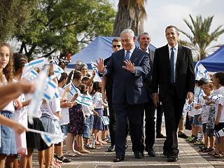 Nagy ígéretet tett a tanévnyitón az izraeli kormányfő