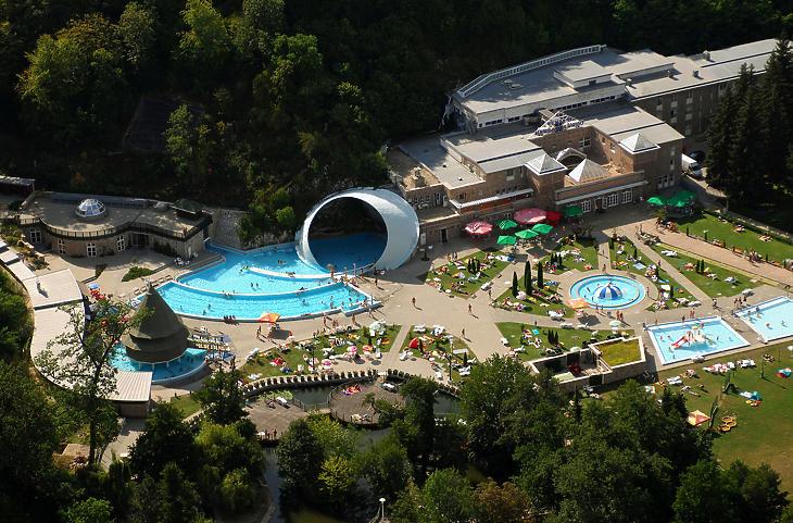 Miskolctapolcai fürdő (Fotó: MTI)