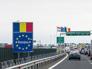 Nyitva a  magyar-román határ - Nagylaknál torlódás alakult ki
