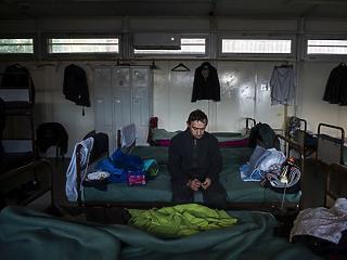 A nap képe: egy budapesti hajléktalan szívszorító karácsonya