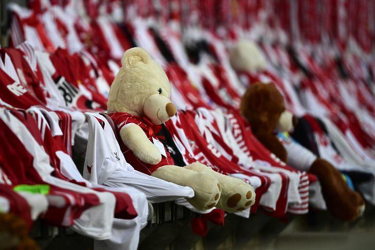 Az üres stadionok komoly veszteséget jelentettek a csapatoknak (Fotó: EPA/INA FASSBENDER)