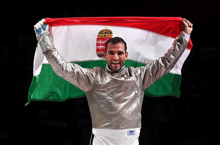 Szilágyi Áron és az olimpia: nyerő páros (Fotó: MTI/Illyés Tibor)