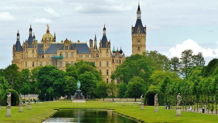 Mecklenburg-Elő-Pomeránia, Schwerin (Pixabay)