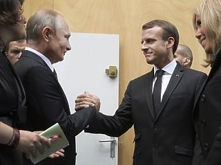 Putyint nem lehet kihagyni az európai biztonságpolitikából – Macron forradalmi javaslata