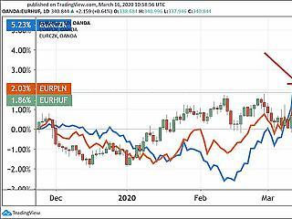 Újra rekordot döntött a forint, 342 felett az euró