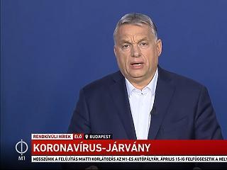 Itt vannak Orbán Viktor rendkívüli bejelentései