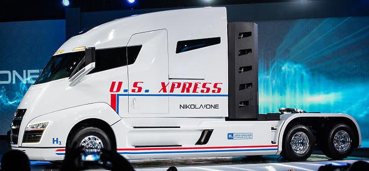 Csak egy patyomkin kamion? (Forrás: nikolamotor.com)